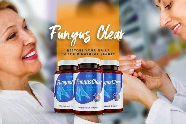 Fungus Clear Vitality Health Probiotic Toenail Supplement Pills - 360 CAPSULES 2