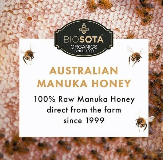 Biosota Organics-Manuka Honey MGO 1200+ 250g (Last Chance) 10