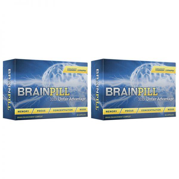 BRAINPILL 2 Months Nootropics Focus Memory Mental Stamina Brain Pill Supplement