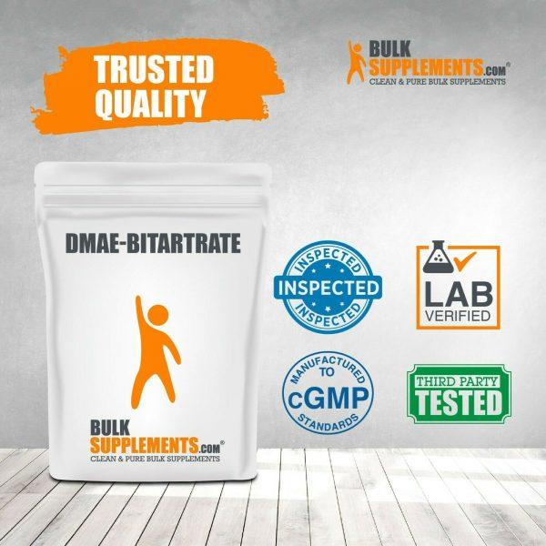 BulkSupplements.com DMAE-Bitartrate Powder - Mental Focus Supplement - ATP 5