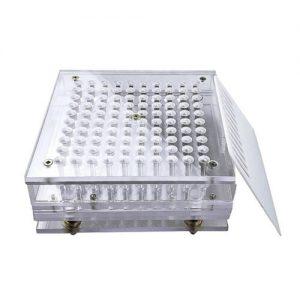 100 Holes Size 5 Plexiglass Capsules Maker Filler Capsules Fillings Machine Tool