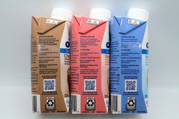 OPTIFAST 800  READY TO DRINK SHAKES - COMBO 8 CHOCOLATE, 8 STRAWBERRY, 8 VANILLA 1