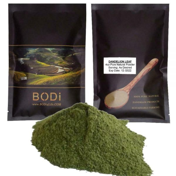 Dandelion Leaf Powder - 100% Pure Natural Chemical Free (4oz > 5 lb)