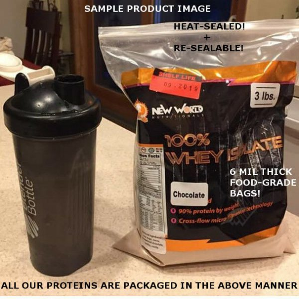 15lb Bulk Vegan Dairy Free Rice & Pea Plant Protein Powder 1
