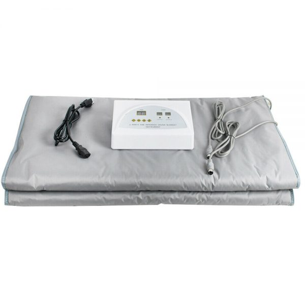 Sauna Far Infrared Thermal Body Slimming Blanket Heating therapy  Bag Beauty SPA 10