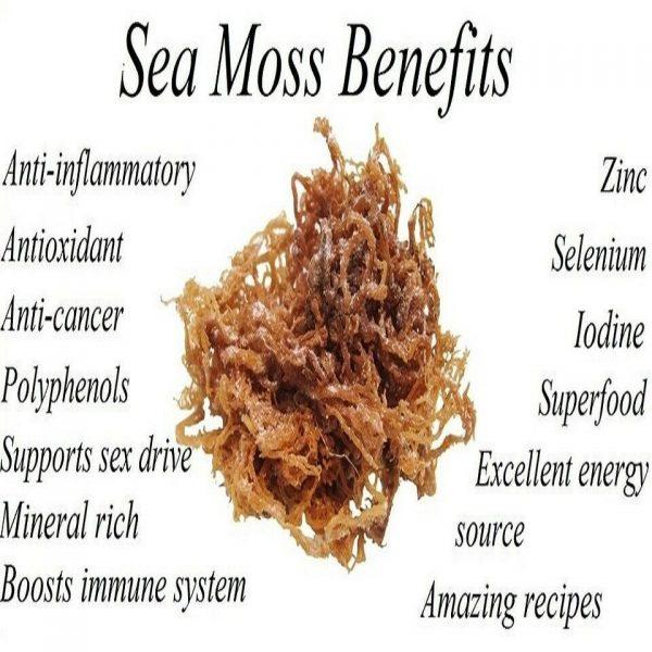 Jamaican Irish Sea Moss, Dr.Sebi Formula/ Raw and Wild Crafted 1