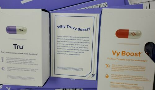 Truvision weight loss Tru vy  You will get 1 month supply of both  New packaging 6