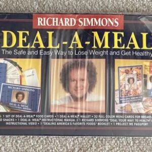 Richard Simmons Deal A Meal Sealed In Box The Safe Easy Way To Lose Weight