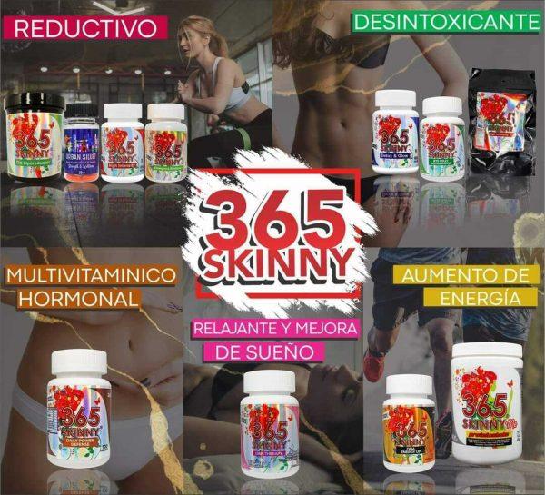 365 Skinny High Intensity 2021 plus Skinny Tea and Detox & Glow Pack