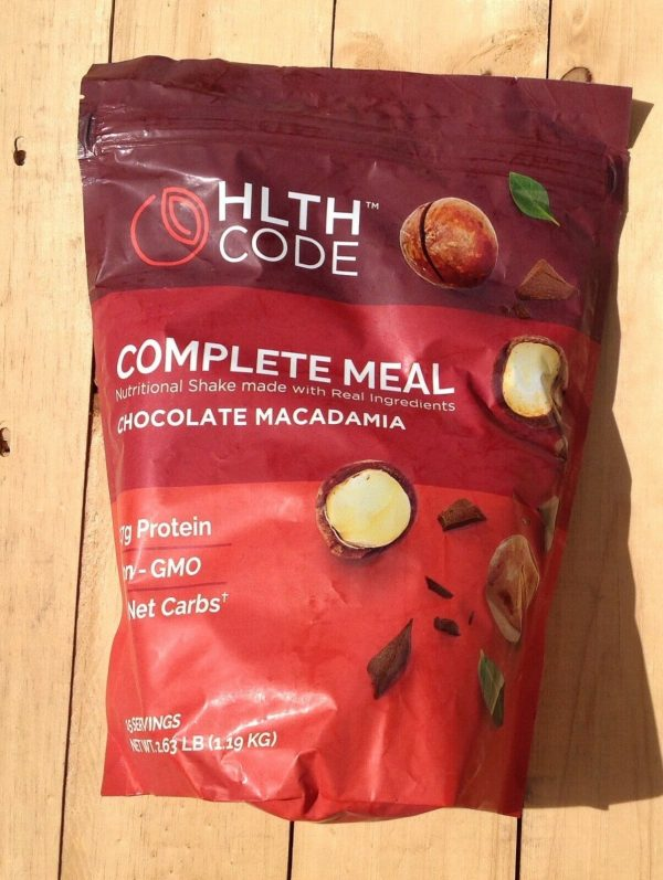 HLTH CODE Protein powder complete meal chocolate macadamia shake
