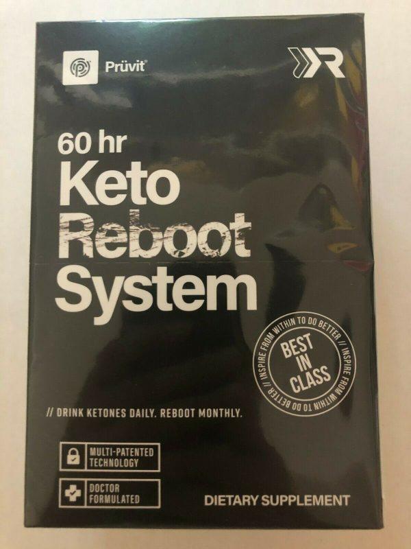 Pruvit Keto 60hr Reboot System