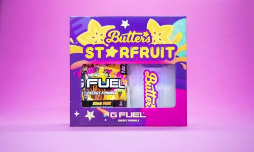 Gfuel Starfruit 1.0 Collectors Box Limited Edition Brand New Sealed