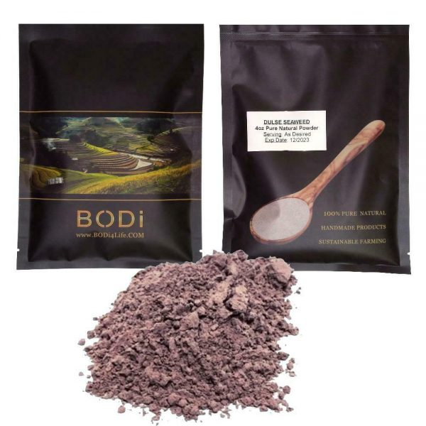 Dulse Seaweed Fine Powder - Authentic Wildcraft Chemical Free (4oz > 32oz)