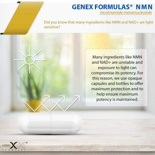 NMN Stabilized Form 500mg Serving Nicotinamide Mononucleotide Direct NAD... 6