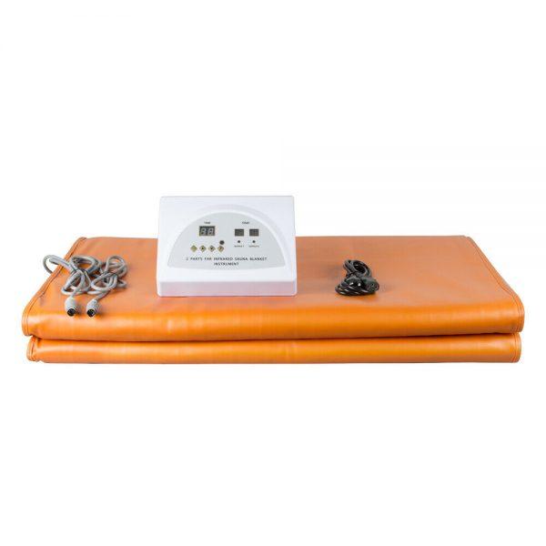 Sauna Far Infrared Thermal Slim Blanket Heating Bag SPA WeightLoss Detox Machine 11