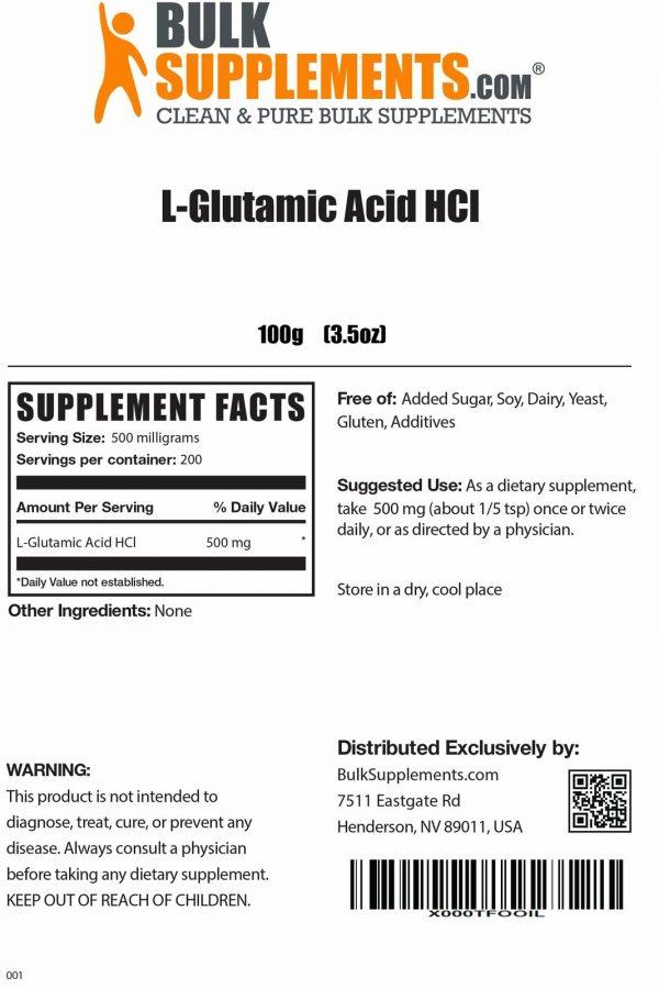 L-Glutamic Acid HCl 1