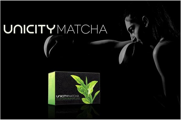Unicity Matcha Chi-oka Blend for Natural Energy (30 Packets)