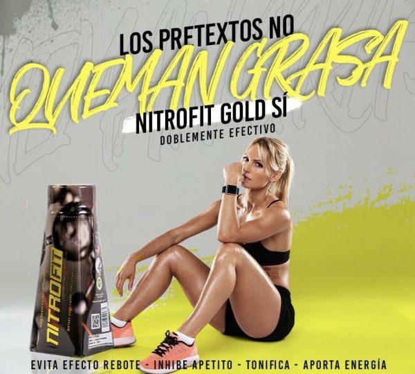 Nitrofit Gold Edition High Performance Fat Burner/Potente Quema Grasa Natural