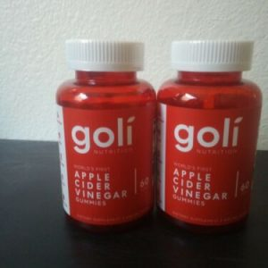 Goli Nutrition Apple Cider Vinegar Gummies Supplement, 60 Pieces, Exp 2022 1
