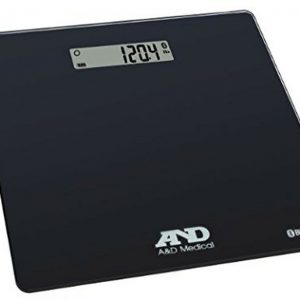 A&D Medical Wireless Connected Weight Scale, Black (UC-352BLE) Up to 450 Pound 1