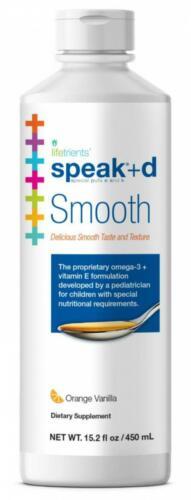 Lifetrients – Speak+D Smooth – Orange Vanilla – 15.2 oz – Pediatrician...  1