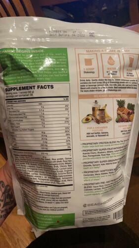 New Shakeology Cookies & Creamy 30 Day Servings Bag • Vegan • Exp 4/2022 1