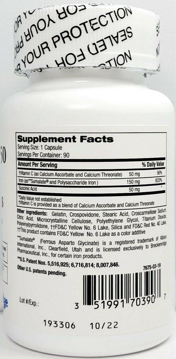 Ferrex 150 Plus Bottle 90 count -Expiration Date 10-2022 2