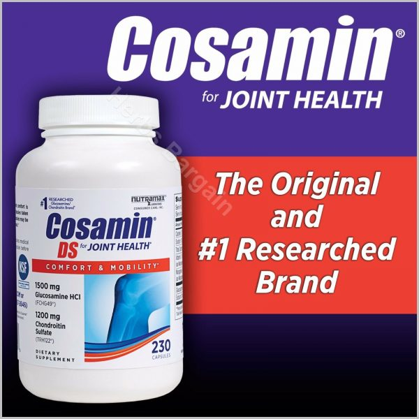Free Worldwide Shipping Cosamin DS Joint Health 230 Capsules New Sealed 02/2025