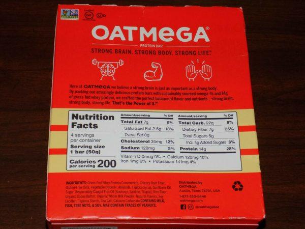 84 OatMega Protein Bars 3 Flavors Vanilla Almond, Choc Mint & Choc Peanut 09/21+ 3