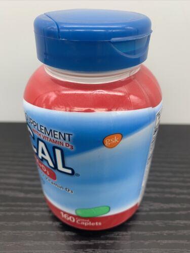 Os-Cal Calcium 500 mg+D3 200 IU Supplements Vitamin 160 • Exp 08/2021 1