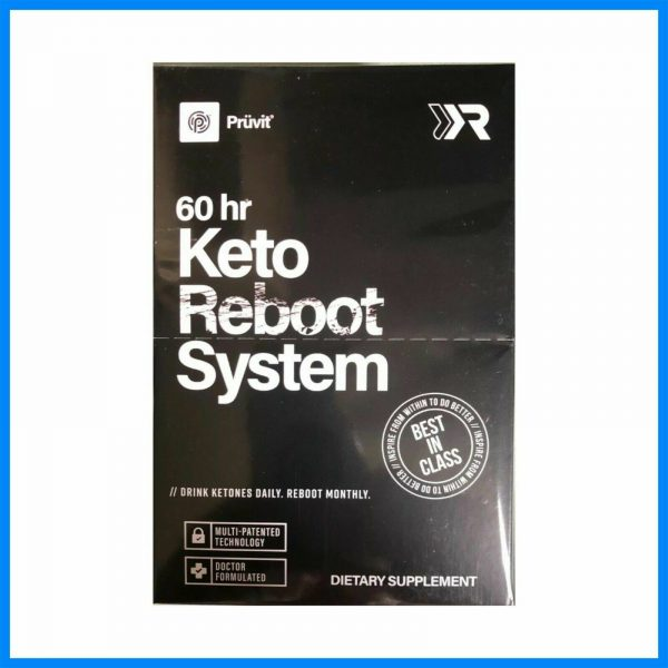 Pruvit 60 Hour Keto Reboot System - Dietary Supplement Exp. 2022