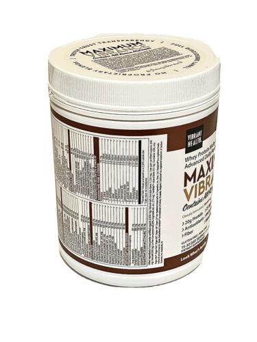 3 Jars Vibrant Health •Maximum Vibrance 6.0• Dark Chocolate w/Sea Salt• 21.60oz 3