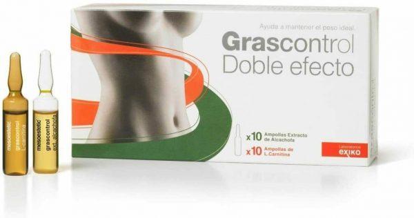 Grascontrol Doble Efecto L-Carnitina/Extracto de Alcahofa 20 x 5ml  sealed box