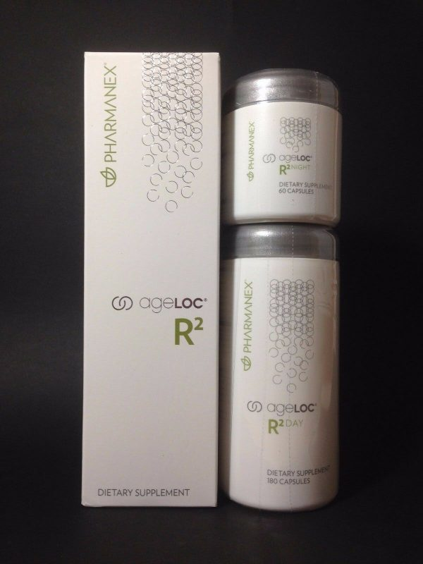 Nu Skin Pharmanex ageLOC R2,  Day and Night, 1 Month Supply, Exp 10/2022
