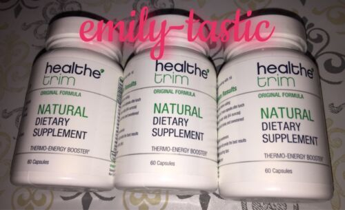 Healthe Trim 3 Bottles 60 Ct =180 Capsules Thermo-Energy Booster HS Skinny #5530