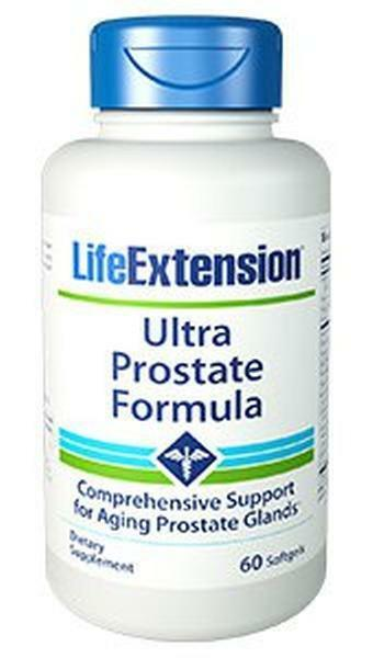 3X $21.75 Life Extension Ultra Prostate Formula Natural FRESH PRODUCT 60 gels 1