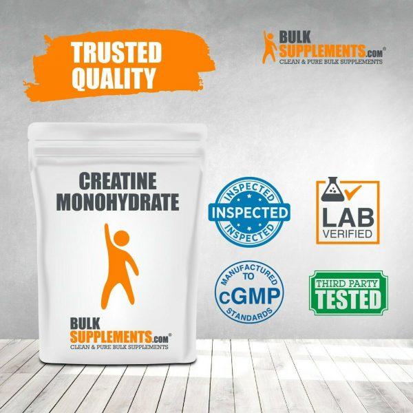 BulkSupplements.com Creatine Monohydrate (Micronized) 4