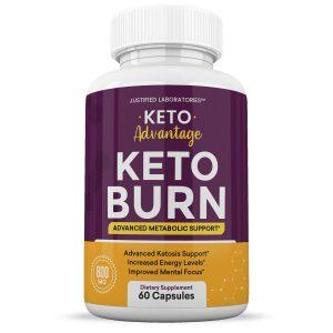 Keto Advantage Keto Burn Pills Weight Loss Diet goBHB Ketogenic Supplement 1