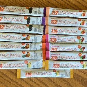 310 NUTRITION Lemonade Cherry lime Blackberry Peach Pineapple Mango 15 servings  1