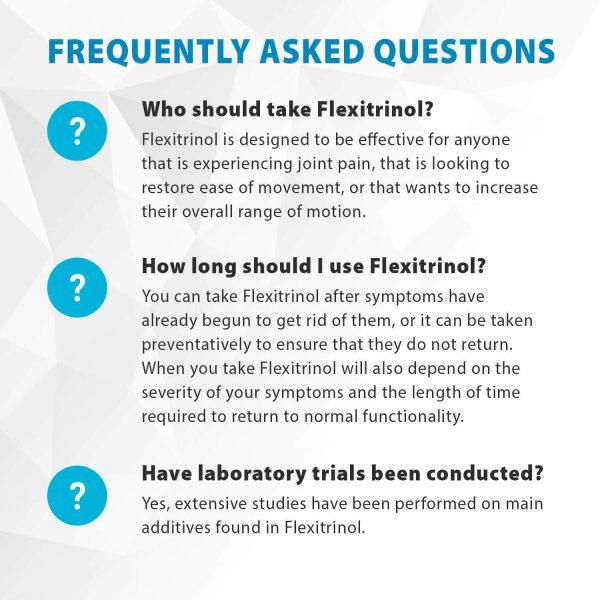 Flexitrinol Joint Health Formula - 1 Bottle - 100% Natural - Reduces Joint Pain 4
