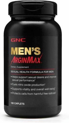 GNC Mens Arginmax, Sexual Health Formula for Men 180 Caplets