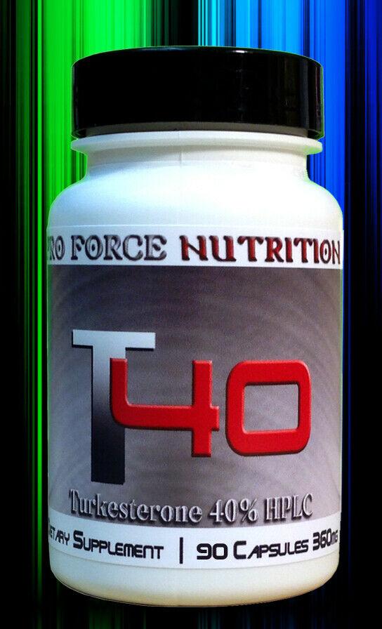 T40 TURKESTERONE XTREME GROWTH Strength BOOST Adaptogen Bodybuilding Supplements 1