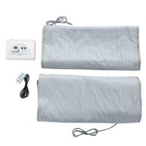 110V Far Infrared Sauna Heating Blanket Body Shape Slimming Fitness Machine Gift 1