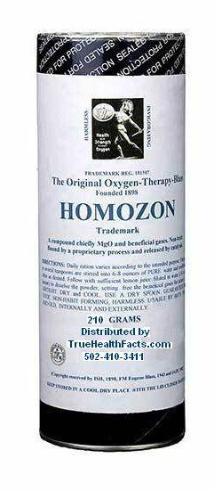 Homozon - The Original -Super Detox with Oxygen-Double Strength, Fresh 230 grams