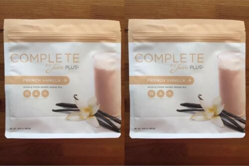 Juice Plus COMPLETE Shake - French Vanilla - Two Bags - Exp 01/2022