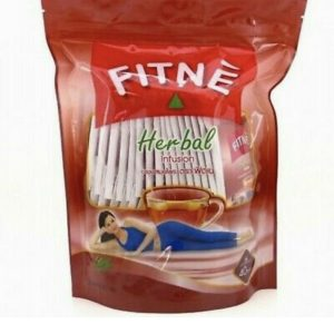 40 Teabags Fitne Herbal Tea Slimming Weight Loss Drink Vitamin Fat Burning Red