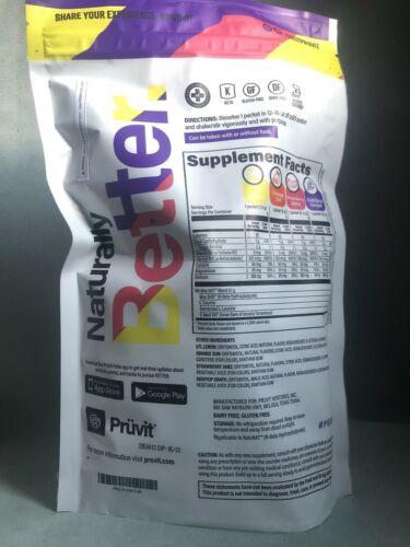 Pruvit New OS NAT LITE 20p 4 Flavors, see description Exp 5/22 No Caffeine 2