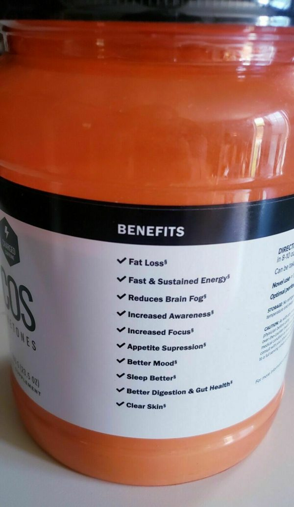 Pruvit Keto COS Charged Orange Dream Ketones, Charged, NEW sealed, 30 Servings! 3