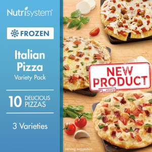 10 COUNT Frozen Italian Pizza Variety Pack Healthy Fitness Diet Weight Loss NEW