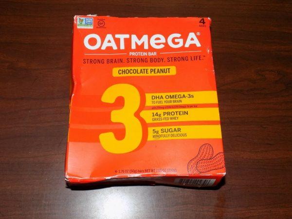84 OatMega Protein Bars 3 Flavors Vanilla Almond, Choc Mint & Choc Peanut 09/21+ 8